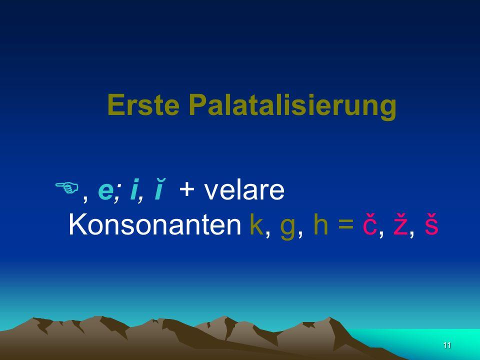 10 Palatalisierung Velare Konsonatnen Zischlaute