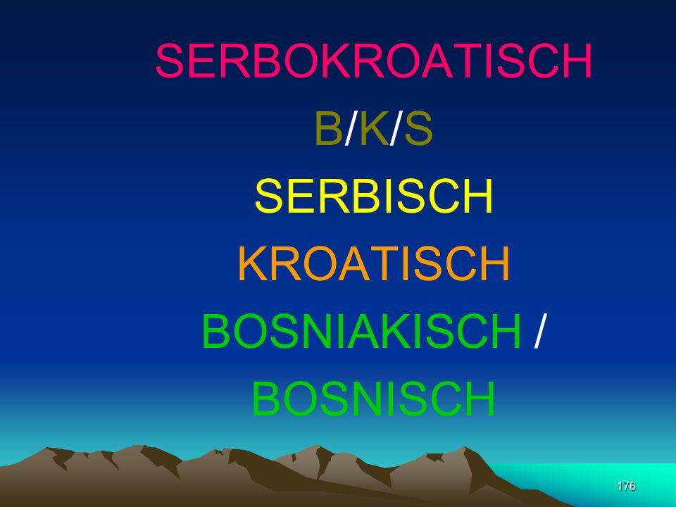 175 MAKEDONISCH Vokale 6 Konsonanten 26 32 Buchstaben 31