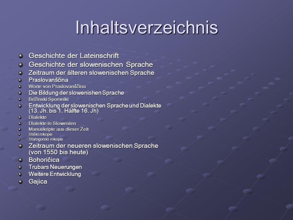 Dialekte in Slowenien 7 große Dialekte PrimorskaGorenjskaRovtarskaDolenjskaŠtajerskaKoroška