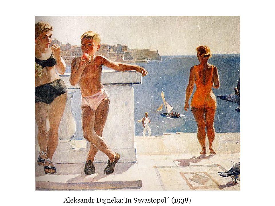 Aleksandr Dejneka: In Sevastopol´ (1938)