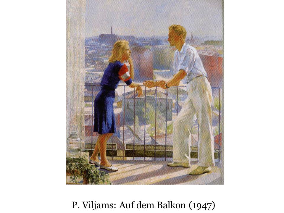 P. Viljams: Auf dem Balkon (1947)