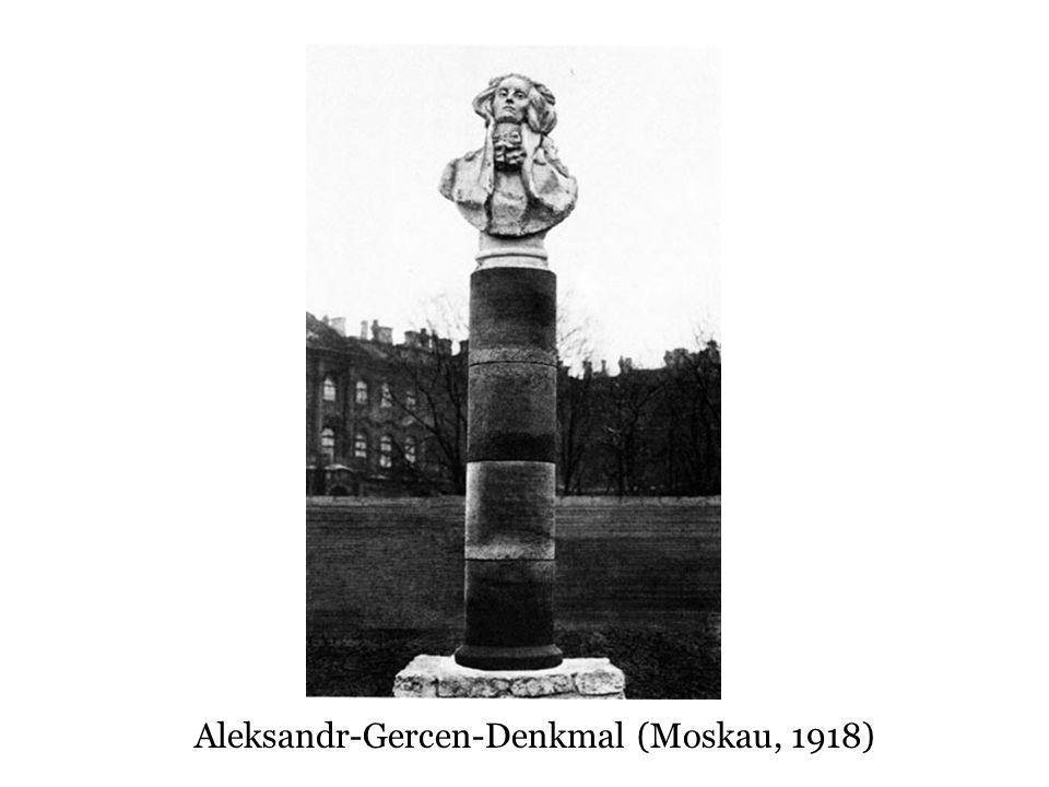 Aleksandr-Gercen-Denkmal (Moskau, 1918)