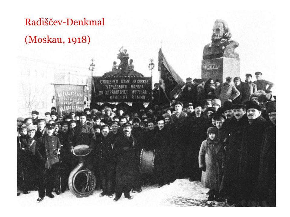 Radiščev-Denkmal (Moskau, 1918)