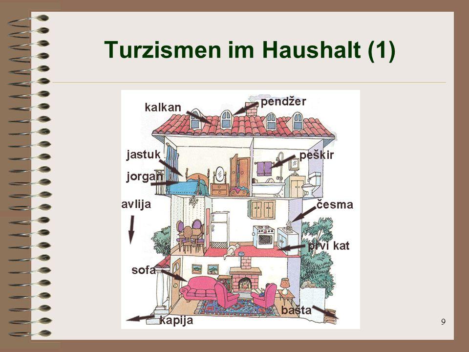9 Turzismen im Haushalt (1)