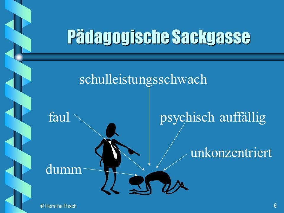 © Hermine Posch 7 Aktuelle Forschung Neuroanatomische Befunde GALABURDA, A.M.