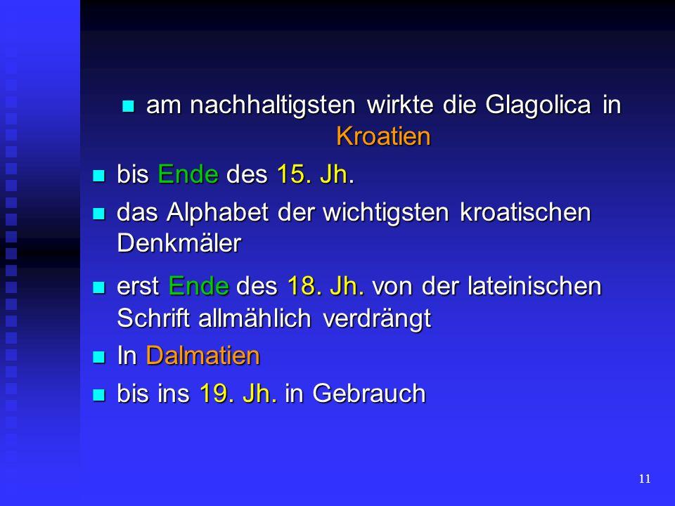 10 14. und 15. Jh. 14. und 15. Jh. Böhmen Böhmen vorübergehende Renaissance vorübergehende Renaissance
