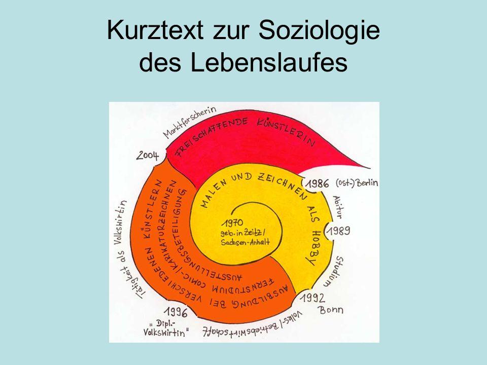 Kurztext zur Soziologie des Lebenslaufes