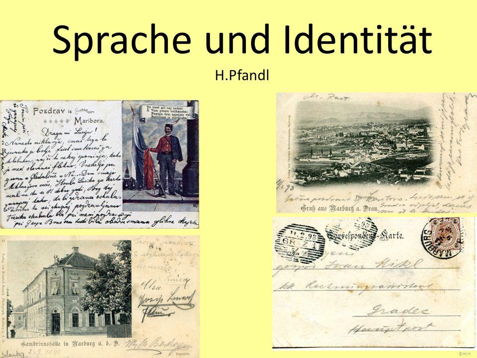 Sprache und Identität H.Pfandl 6min