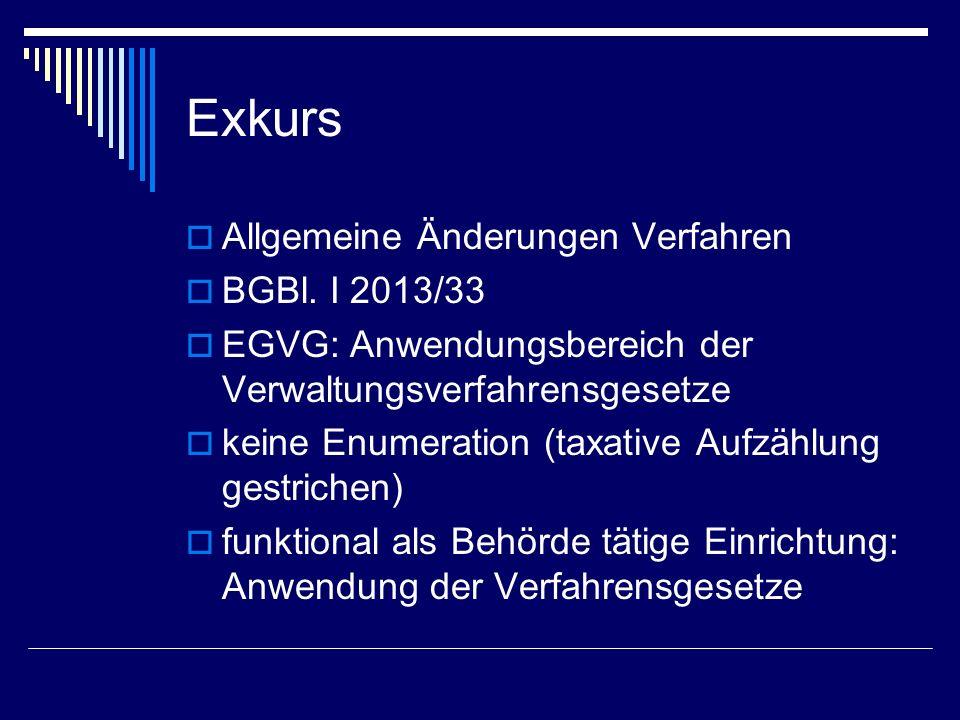 Zuständigkeitsabgrenzung Verwaltungsgerichte Subsidiäre Zuständigkeit der Landesverwaltungsgerichte (Art.