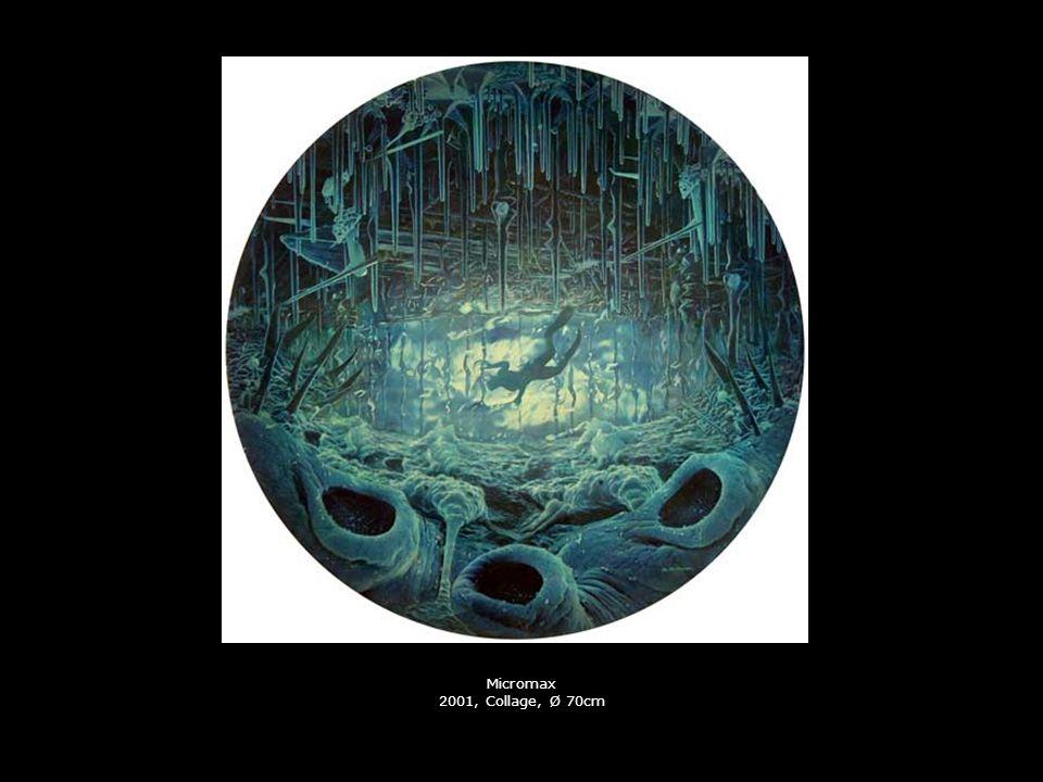 Micromax 2001, Collage, Ø 70cm