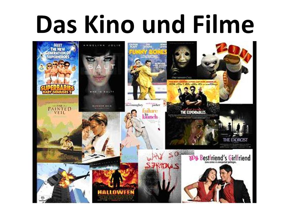 Das Kino und Filme