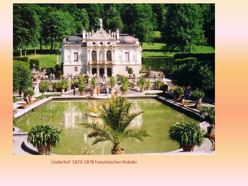 Linderhof 1870-1878 französischen Rokoko