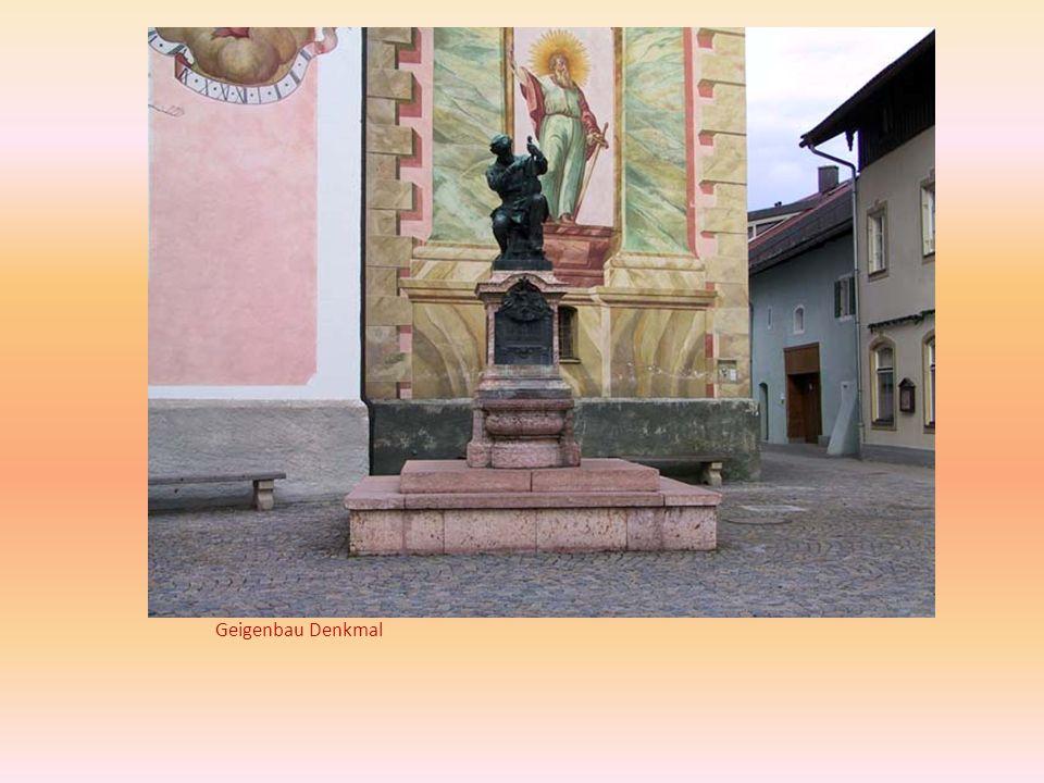 Geigenbau Denkmal