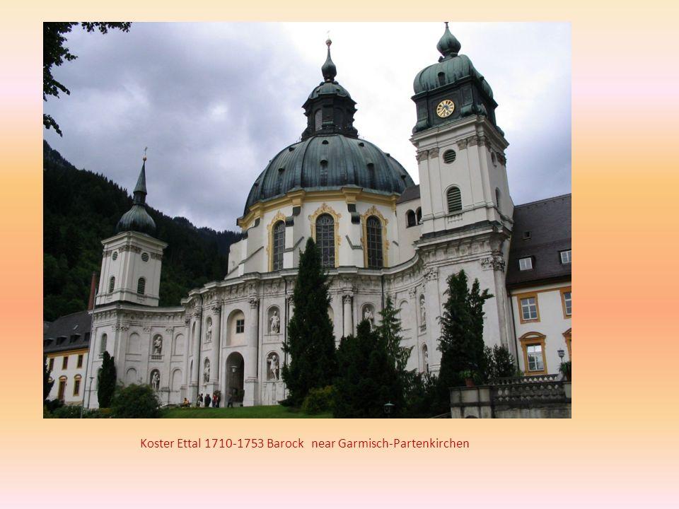 Koster Ettal 1710-1753 Barock near Garmisch-Partenkirchen