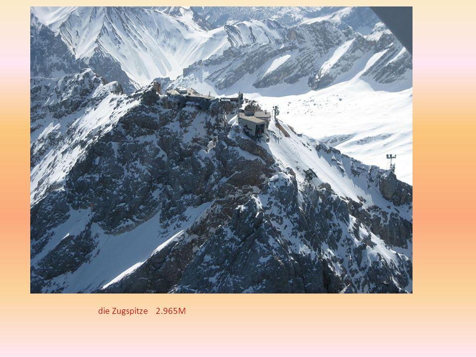 die Zugspitze 2.965M