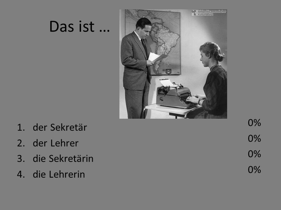 die Sekretärin