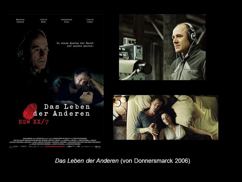 Das Leben der Anderen (von Donnersmarck 2006)