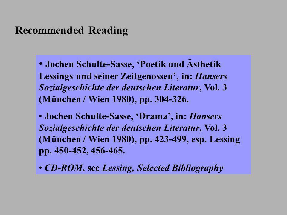 The different phases within the Enlightenment 1720-1755 Frühaufklärung: rationalism (Verstandes- aufklärung), Gottsched 1750-1770 empfindsame Hochaufklärung: unity of brain and heart (Vernunftsaufklärung), Bodmer und Breitinger, Klopstock, Lessing 1770-1790 Spätaufklärung