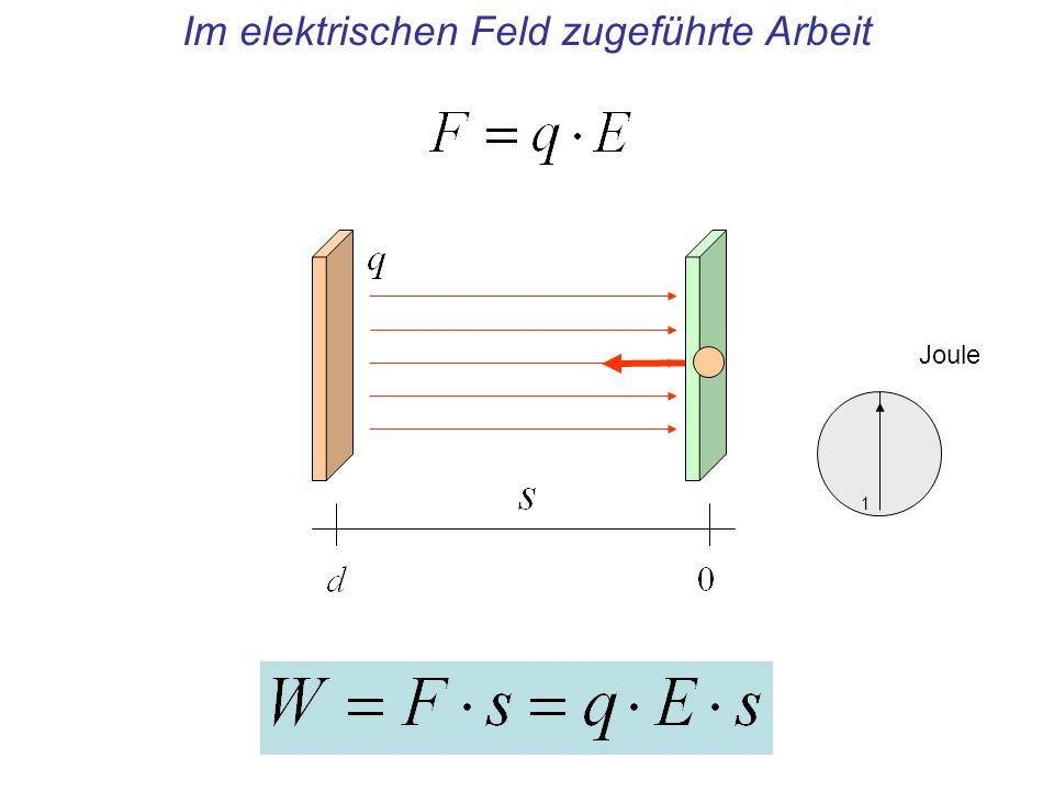 FormelEinheitAnmerkung Elektrisches Potential eines Punktes: Quotient, Zähler: Arbeit, um eine Ladung von einem vereinbarten Ort an diesen Punkt zu verschieben, Nenner: Betrag der Ladung Das elektrische Potential