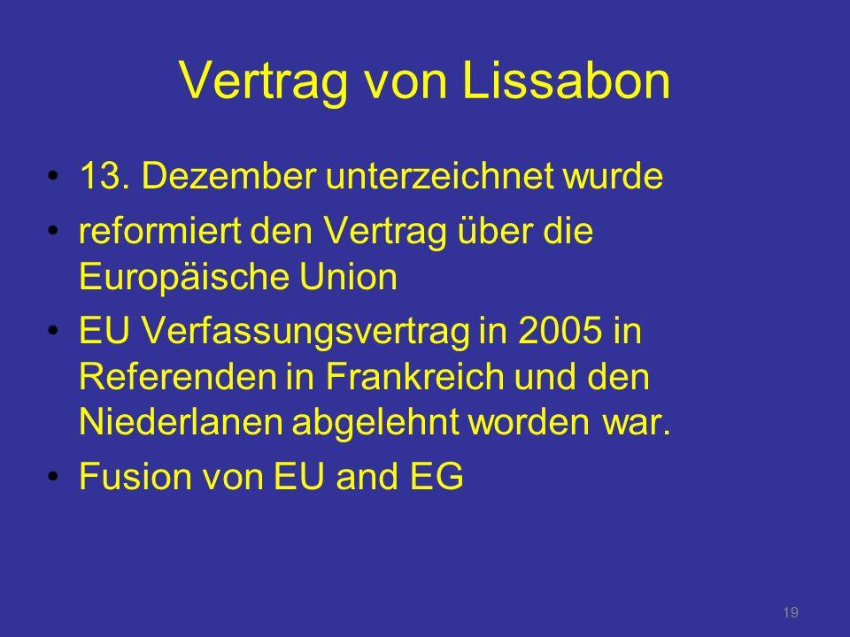 19 Vertrag von Lissabon 13.