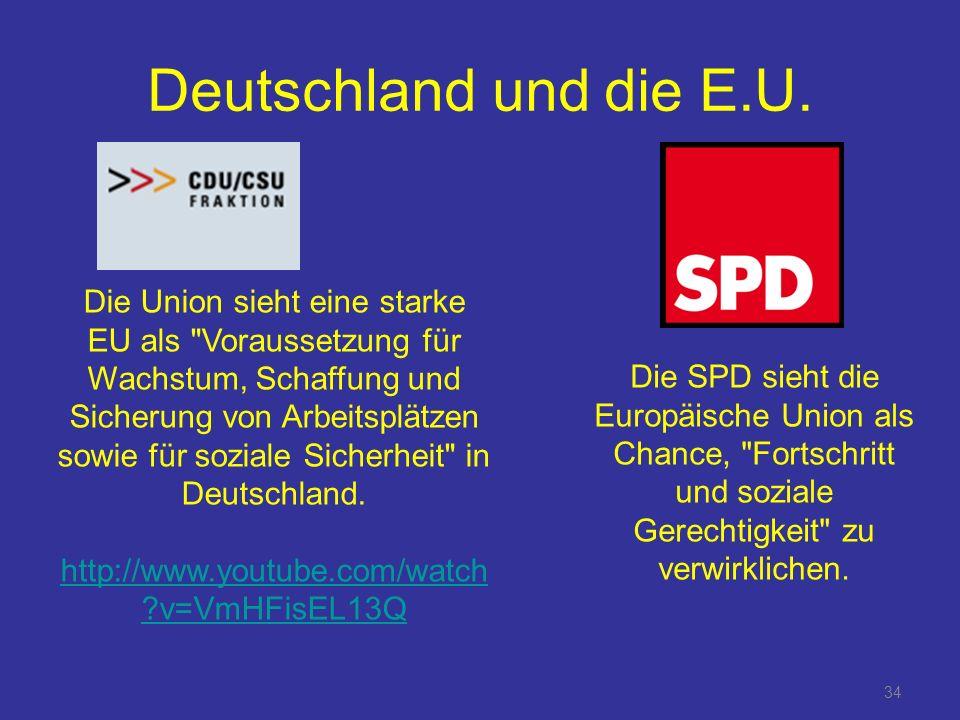 34 Deutschland und die E.U.