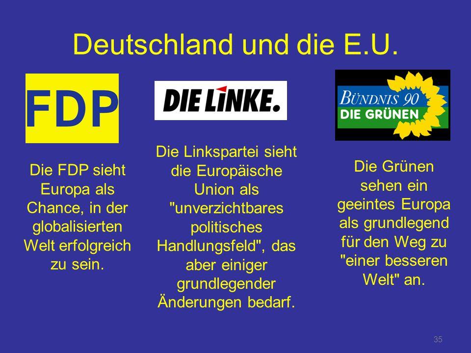 35 Deutschland und die E.U.