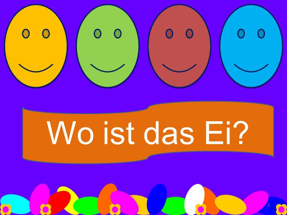 Wo ist das Ei? 5