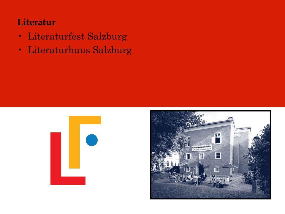 Literatur Literaturfest Salzburg Literaturhaus Salzburg