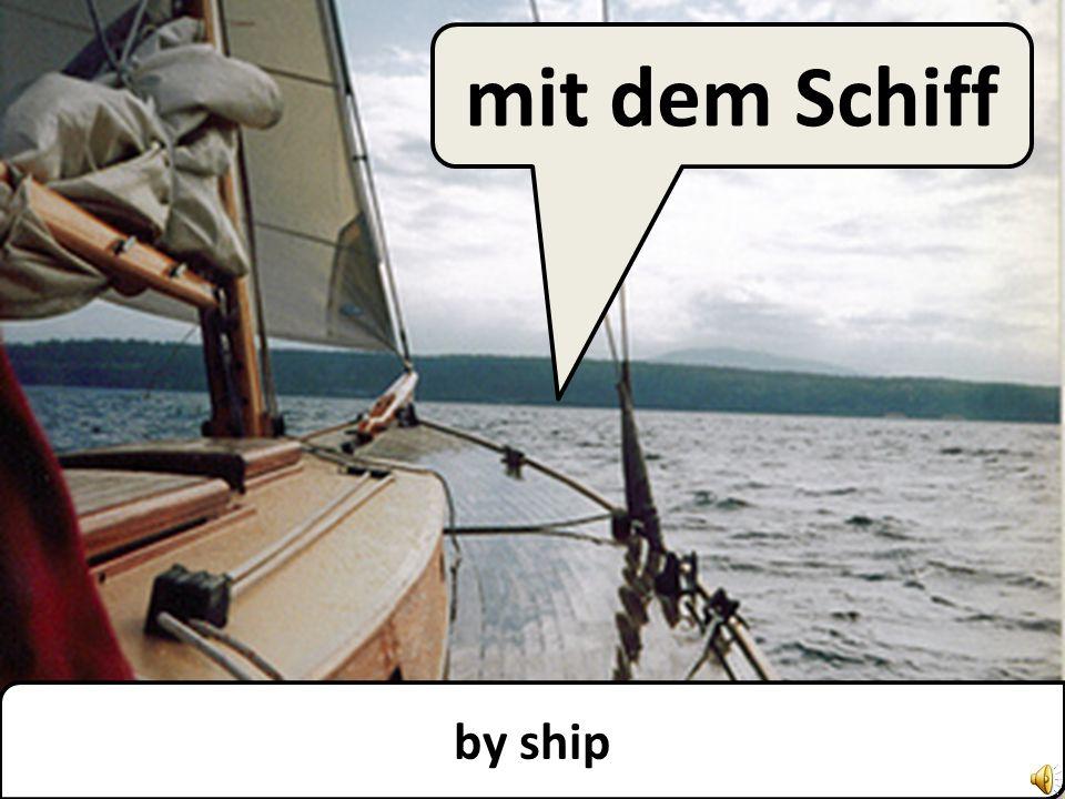 by ferry mit der Fähre