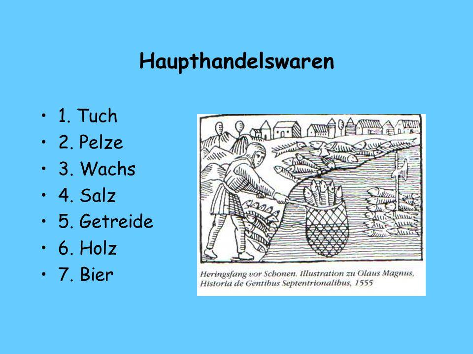 2.Die Kaufleute der Hansezeit 1. Die wandernden Kaufleute 2.
