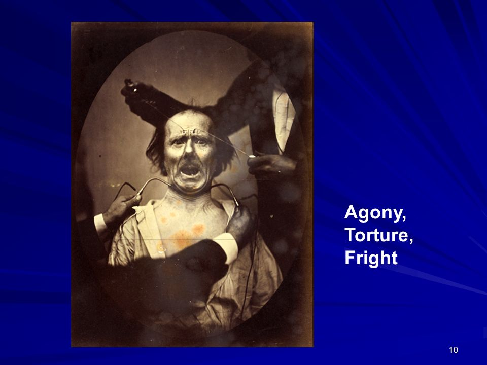 10 Agony, Torture, Fright