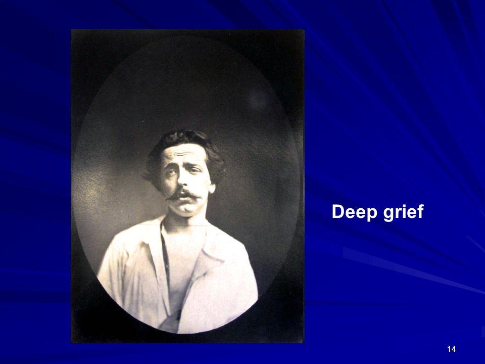 14 Deep grief