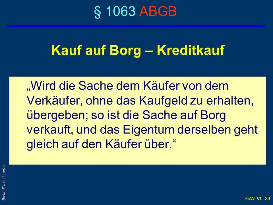 SoWi VL- 32 Barta: Zivilrecht online Was bedeutet dingliche Sicherheit .