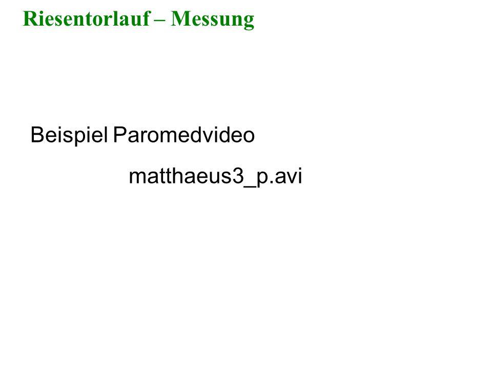 Riesentorlauf – Messung Beispiel Paromedvideo matthaeus3_p.avi