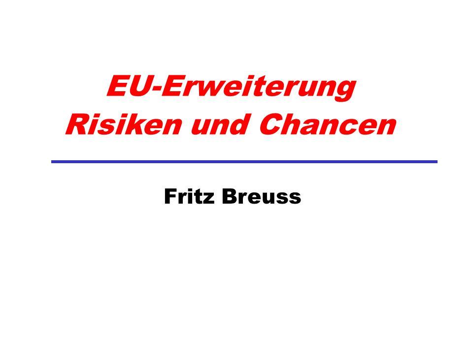 EU-Erweiterung Risiken und Chancen Fritz Breuss