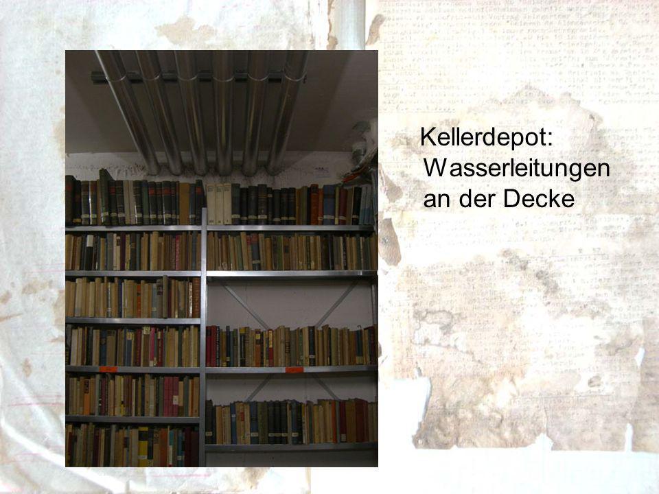 Die Verwaltung der Digitalisate sollte sinnvoller Weise mit der Ordnung der Originale in Zusammenhang stehen.