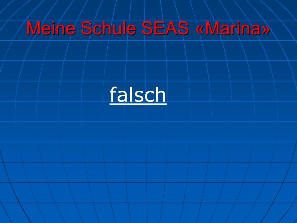 Meine Schule SEAS «Marina» falsch