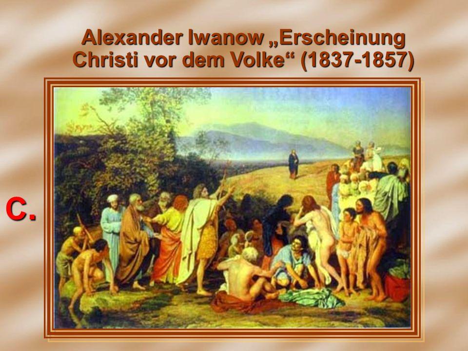 Alexander Iwanow Erscheinung Christi vor dem Volke (1837-1857) С.С.С.С.