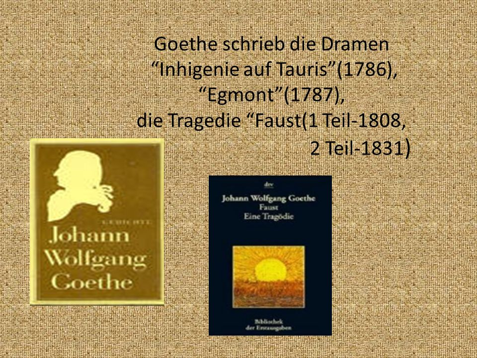 Sp äter besuchte der junge Goethe die Leipziger Universität und schloss seine Studium der Rechte in Strassburg ab.