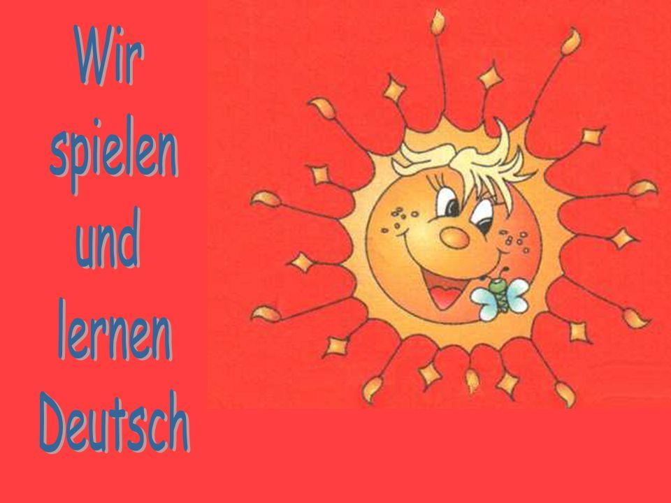 Alle wollen glücklich sein Unterm warmen Sonnenschein!