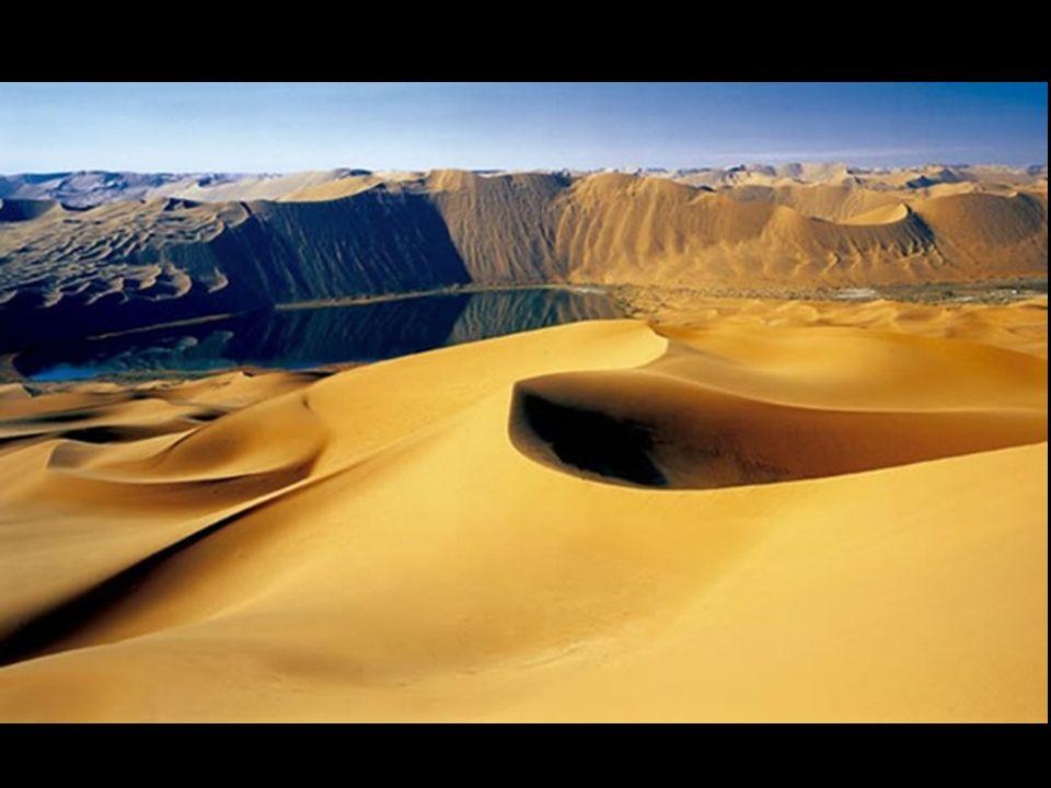 Bis heute, ist es schwierig zu verstehen dass es in einer Wüste bei ständiger Trockenheit ohne Regen und wo sehr große Sanddünen dominieren, seit Jahr