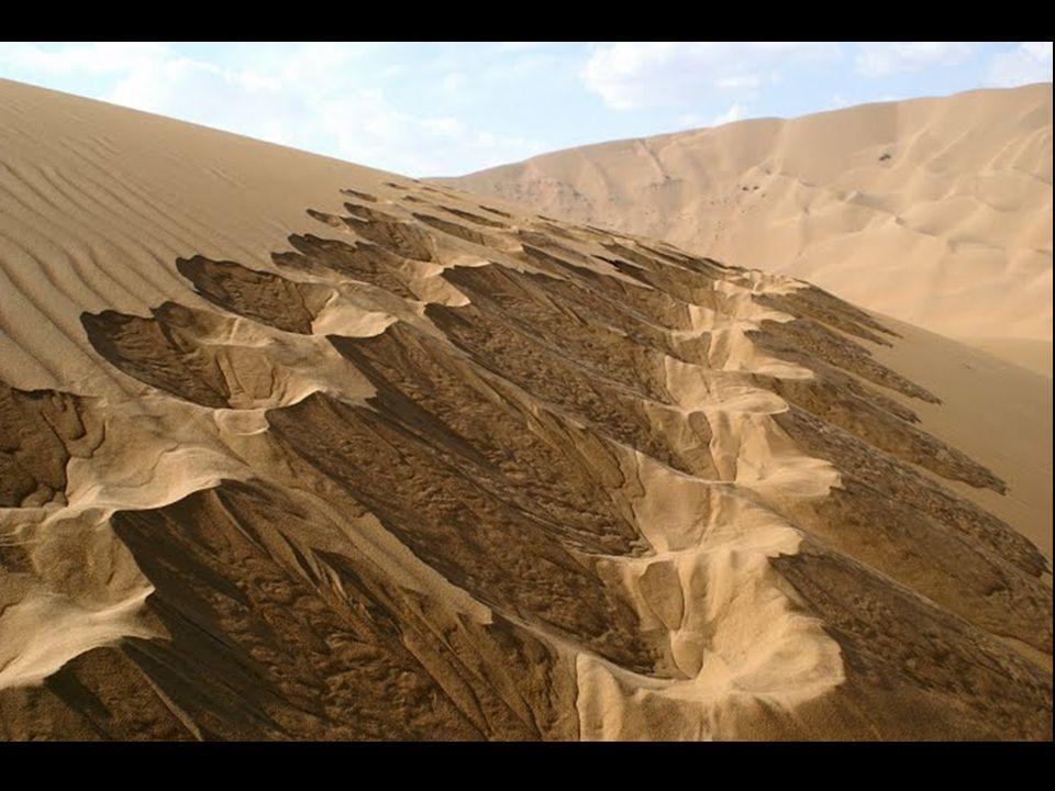Diese Badain Jaran liegt im Norden Chinas, nahe der Mongolei. Diese Wüste ist einzig in ihrer Art. Sie enthält Dünen, die durch die Feuchtigkeit im In