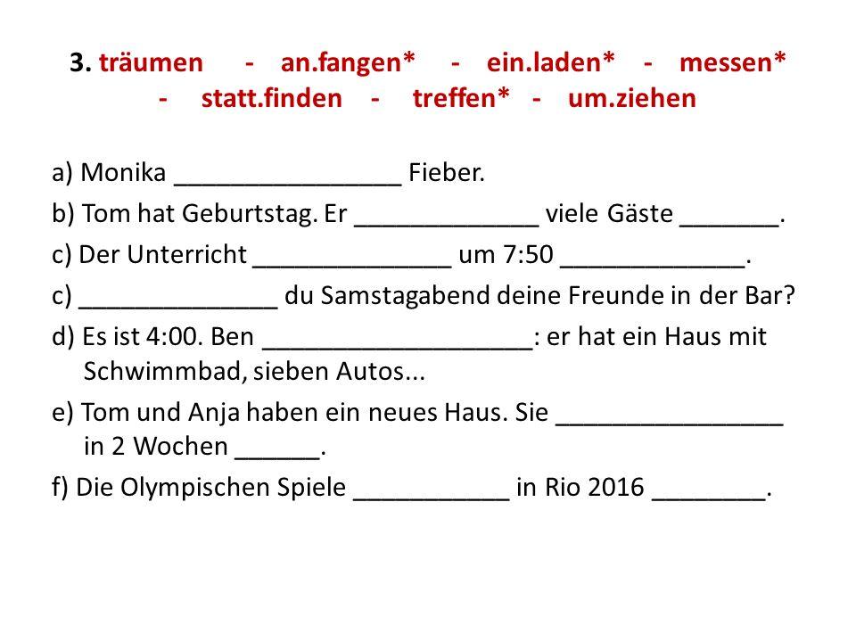 4.Terminkalender ich: tor: 20..00h - sprehod + pospravljati Alex: sr: 16.00h + tečaj nem.