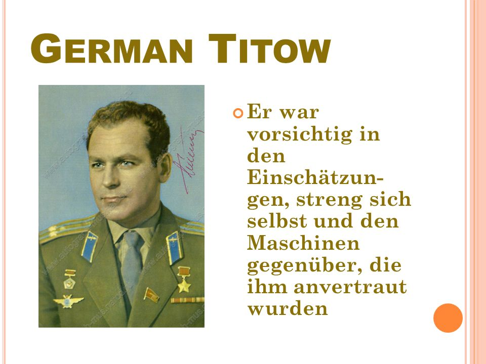 G ERMAN Т ITOW