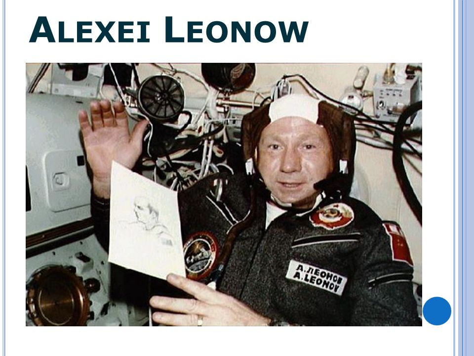 Mit dem Raumschiff war er nur durch eine 4,5 m lange Sicherheits- leine verbunden und schwebte etwa 24 Minuten im Weltraum