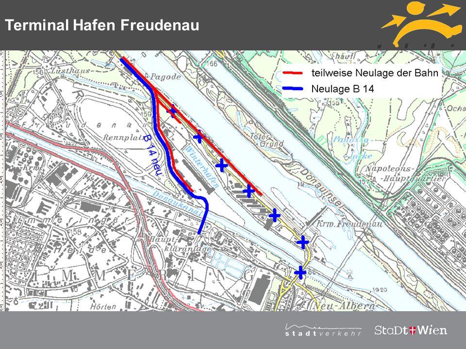 Strategieplan für Wien Vortragstitel Terminal Hafen Freudenau