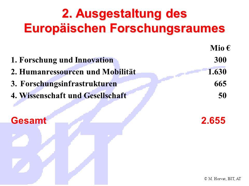 © M.Horvat, BIT, AT 3. Gemeinsame Forschungsstelle (GFS) 3.