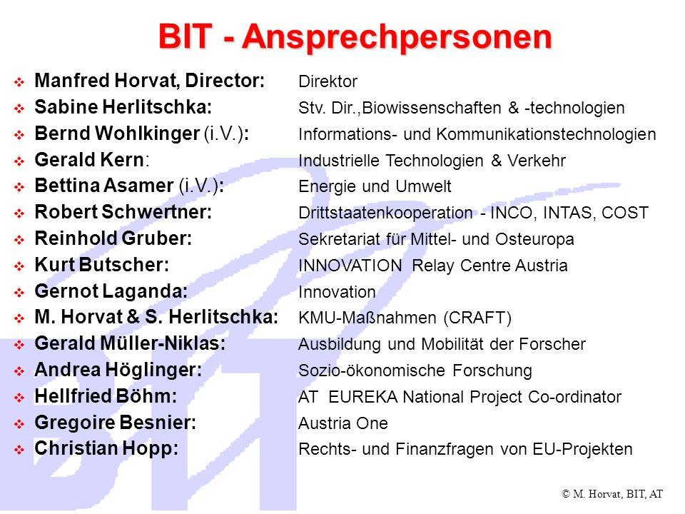 © M.Horvat, BIT, AT Kontakt Hon.-Prof. DI.
