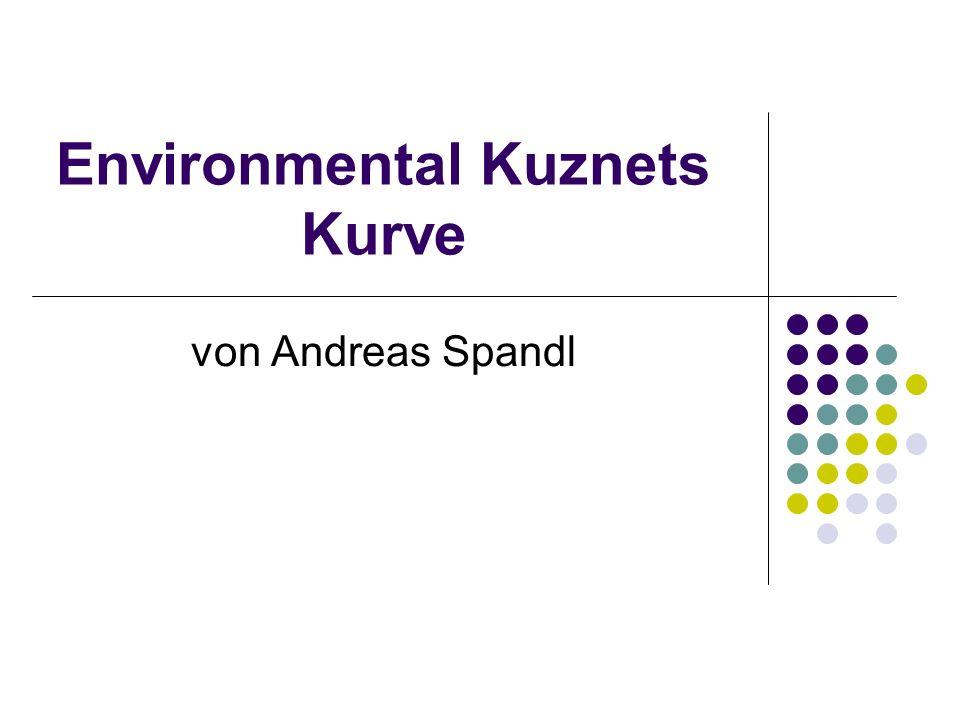 Environmental Kuznets Kurve von Andreas Spandl