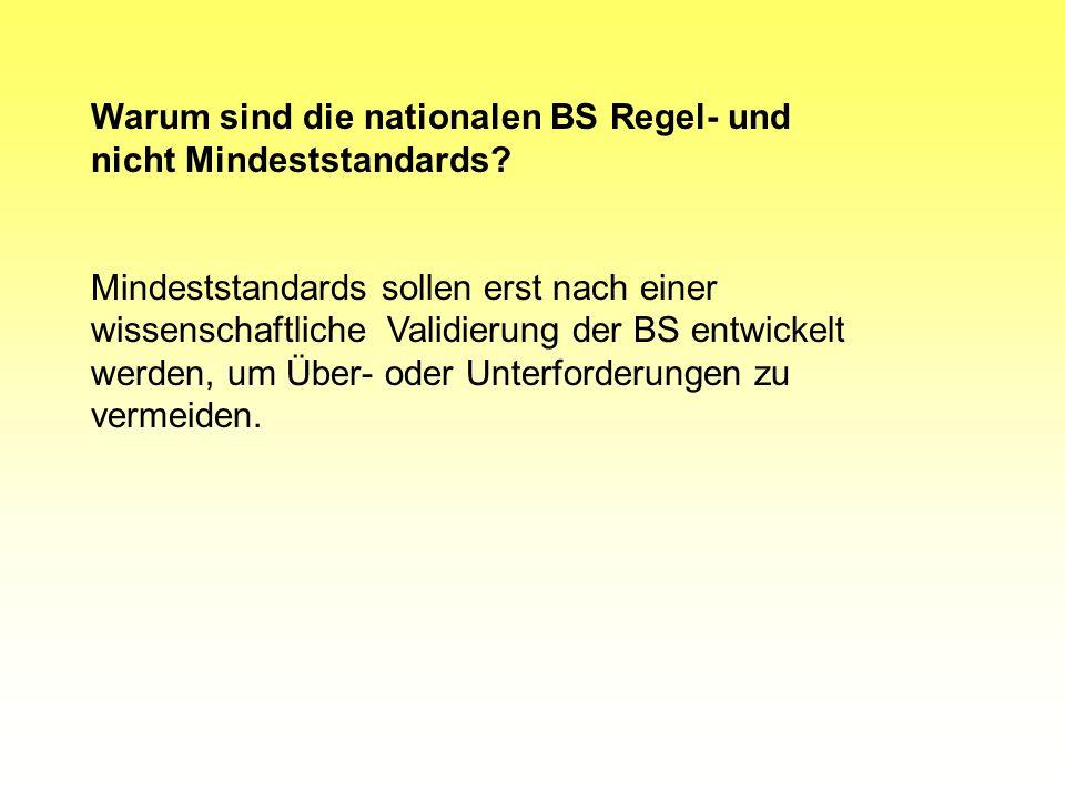 3. Besonderheiten: Fächer: Deutsch, Mathematik, Erste Fremdsprache -beschreiben erwartete Leistungen im Rahmen von Anforderungsbereichen -weisen ein m